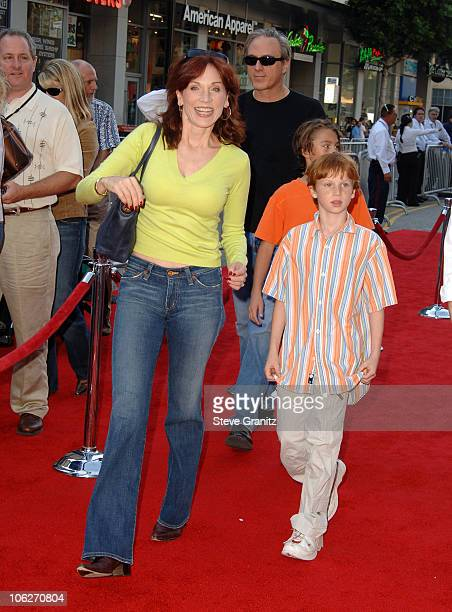 Marilu Henner during Disney's 'Chicken Little' Los Angeles Premiere Arrivals at El Capitan in Hollywood California United States