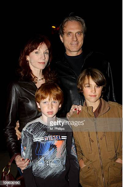 Marilu Henner husband Michael Brown and sons Joey and Nick