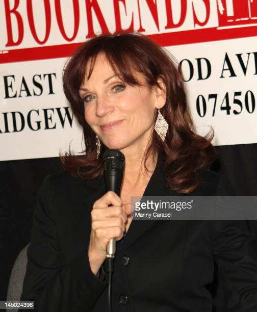 """Marilu Henner promotes """"Total Memory Makeover"""" at Bookends Bookstore on April 25, 2012 in Ridgewood, New Jersey."""