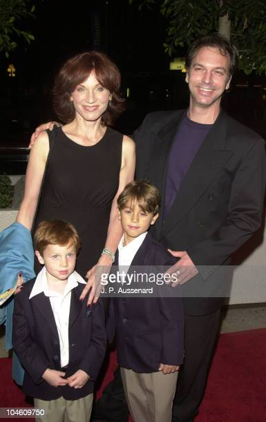 Marilu Henner sons Nicolas Joseph during Kiss Me Kate Hollywood Opening at Shubert Theatre in Century City California United States