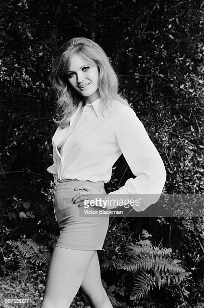 Marilyn Ann Ward, Miss United Kingdom, on her 22nd birthday, UK, 10th October 1971. She was the 1st runner-up in the Miss World 1971 beauty pageant...
