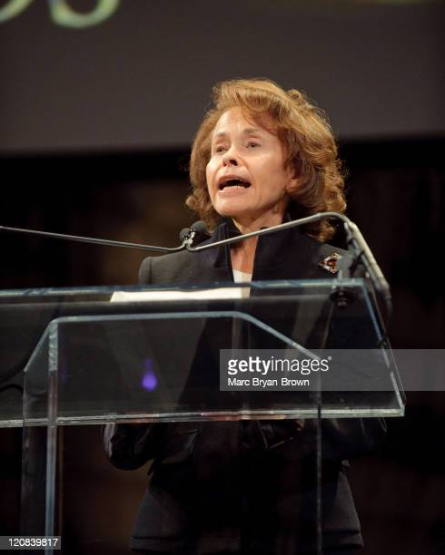 Marilyn B. Hewitt attends the 30th annual News & Documentary Emmy Awards at Frederick P. Rose Hall, Jazz at Lincoln Center on September 21, 2009 in...