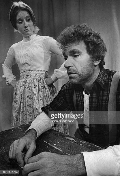 MAY 3 1976 MAYR 5 1976 MAY 9 1976 Marilyn Batts is Jennifer and Buddy Greene is Ben in the Bonfils Theatre production of Paint Your Wagon open on...