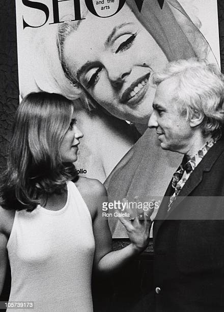 Marilyn Chambers and Huntington Hartford during Marilyn Chambers and Huntington Hartford Sighted at the Show Club June 1 1973 at Show Club in New...