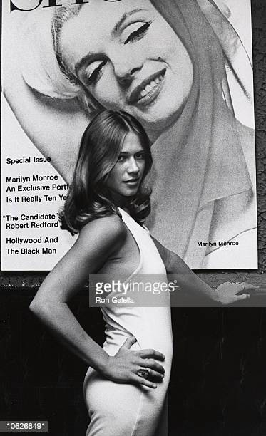Marilyn Chambers during Marilyn Chambers and Huntington Hartford Sighted at the Show Club June 1 1973 at Show Club in New York New York United States