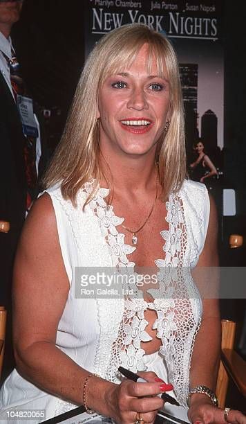 Marilyn Chambers during Video Software Dealers Association Convention July 25 1994 at Las Vegas Convention in Las Vegas Nevada United States