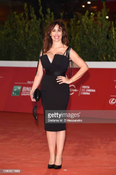 """Marilyn Gallo attends the red carpet of the movie """"Tigers"""" during the 15th Rome Film Festival on October 18, 2020 in Rome, Italy."""