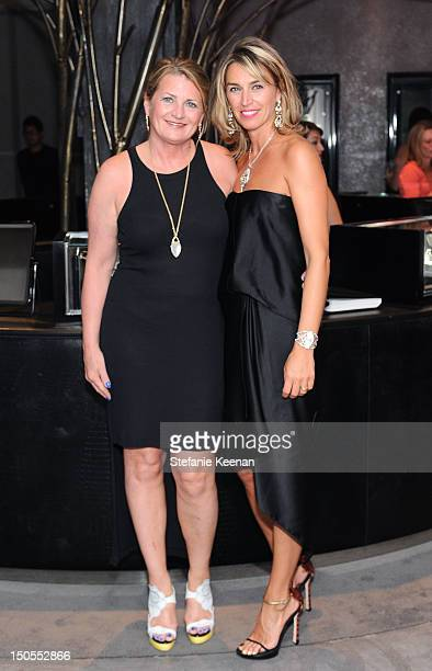Marilyn Heston and Assia Webster attend Stephen Webster New Collections Launch Event At Beverly Hills Flagship Store at Stephen Webster on August 20...
