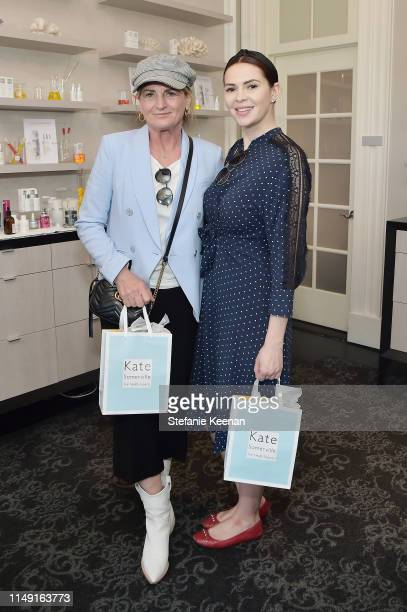 Marilyn Heston and Carly Steel attend Kate Somerville Kx Concentrates Launch on May 14 2019 in Los Angeles California