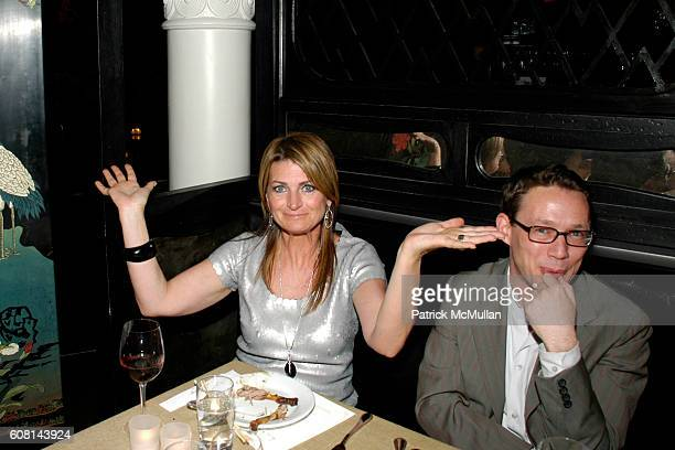 Marilyn Heston and Eric Wilson attend NICOLE MILLER's 25th Anniversary honoring Riverkeeper at Chinatown Brasserie on April 24 2007