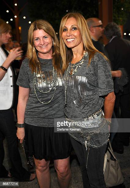 Marilyn Heston and Rosette Delug attend MOCA's Fresh Silent Auction at the Museum Of Contemporary Art on May 9 2009 in Los Angeles California