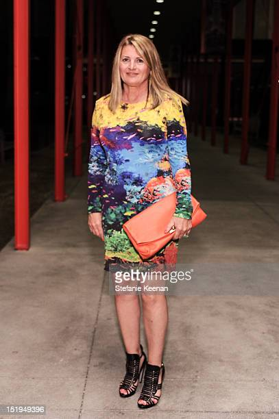 Marilyn Heston attend LACMA Presents Ken Price Sculpture A Retrospective at BP Grand Entrance at LACMA on September 12 2012 in Los Angeles California