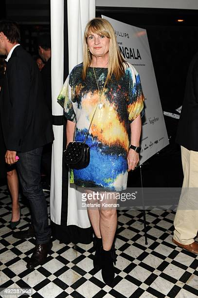 Marilyn Heston attends LAXART UNGALA Presented By Phillips on May 19 2014 in Los Angeles California