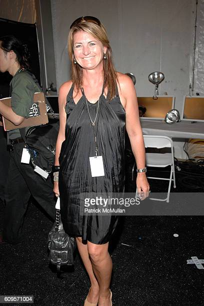 Marilyn Heston attends Reem Acra Spring 2008 Collection at The Tent on September 9 2007 in New York City