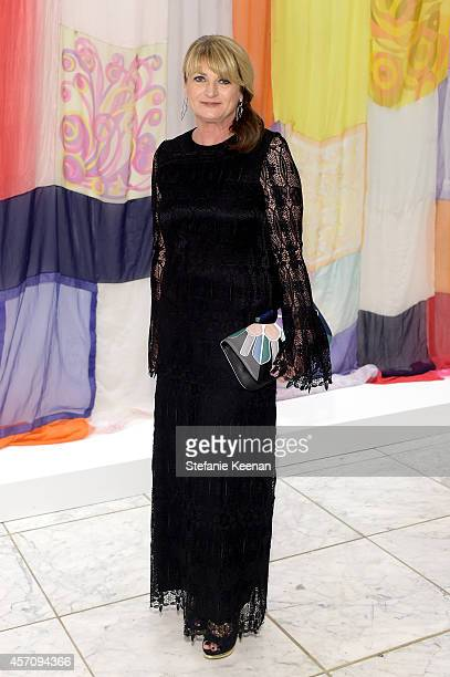 Marilyn Heston attends the Hammer Museum's 12th annual Gala in the Garden with generous support from Bottega Veneta at the Hammer Museum on October...