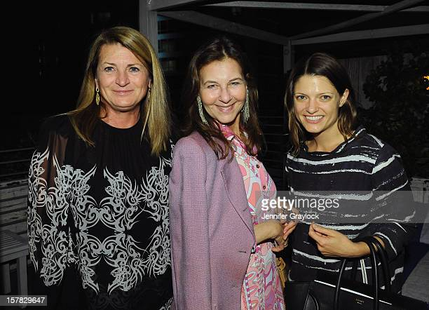 Marilyn Heston IH Sutnick and LACMA's Abby Bangser attend a LACMA Conversation with Michael Govan Stephanie Barron and Art in America's Lindsay...