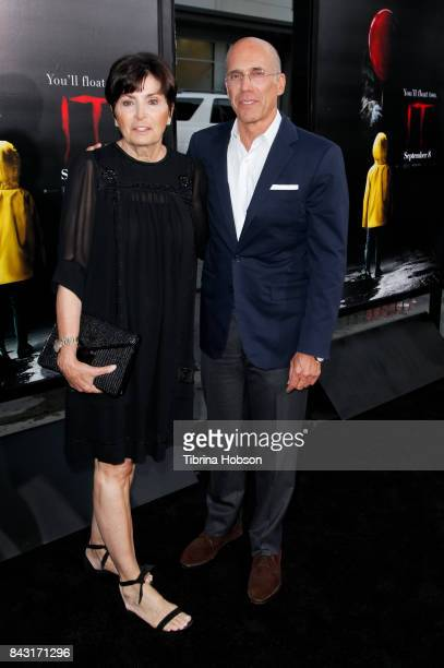 Marilyn Katzenberg and Jeffrey Katzenberg attend the premiere of 'It' at TCL Chinese Theatre on September 5 2017 in Hollywood California