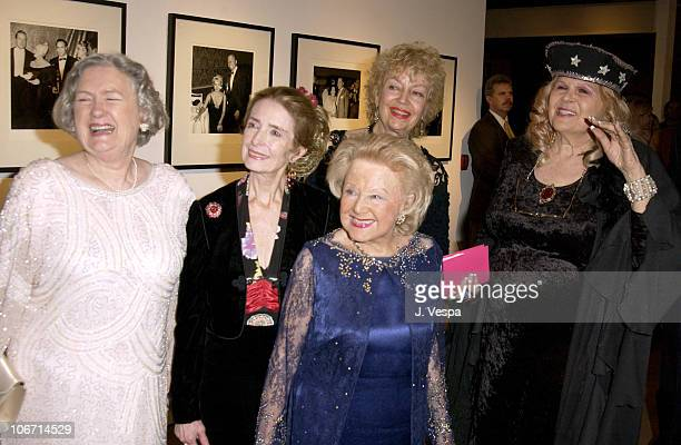 Marilyn Knowlden Margaret O'Brien Mildred Shay Kathleen Hughes and Gloria Pall