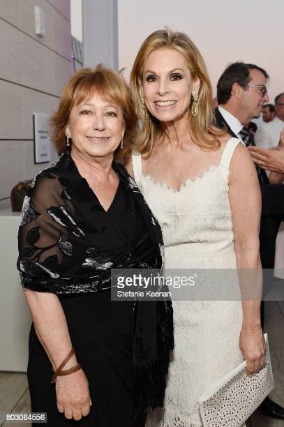 Marilyn Landau and Adele Alagem attend Waldorf Astoria Beverly Hills Grand Opening Cocktail Celebration on June 28 2017 in Beverly Hills California