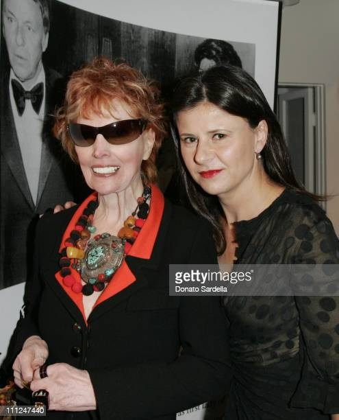 Marilyn Lewis and Tracey Ullman in Cardinali during Decades Presents Cardinali To Benefit KCET at Decades Store in Los Angeles California United...