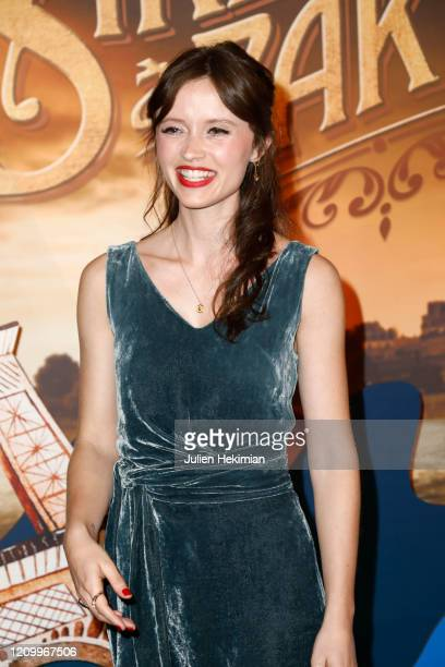 Marilyn Lima attends the Une Sirene A Paris premiere at Cinema Max Linder on March 02 2020 in Paris France