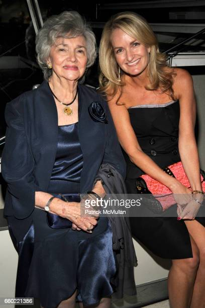 Marilyn Lovell and Heather Vandenberghe attend LOUIS VUITTON 40th Anniversary of the Lunar Landing Tribute Event at Rose Center for Earth and Space...