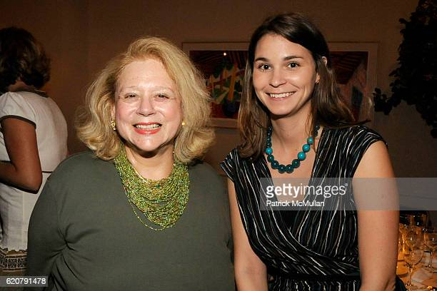 Marilyn Malkin and Rebecca Kelly attend PARTY FAVORS by Nicole Sexton Book Release Party at Michael's on July 29 2008 in New York City