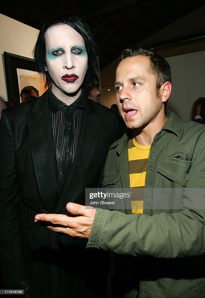 Marilyn Manson Opens Art Gallery on Halloween Photos and Images ...