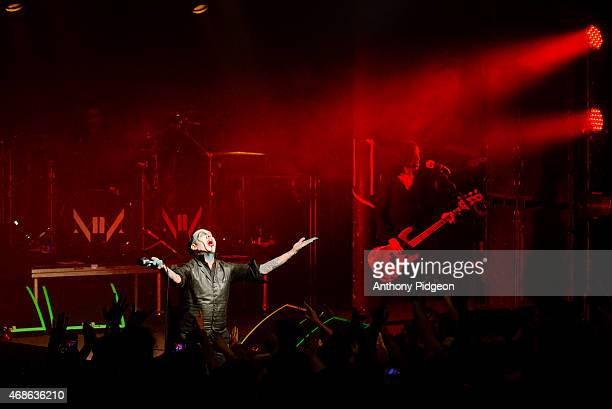 Marilyn Manson at Roseland Theater on March 25 2015 in Portland Oregon United States