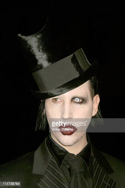 Marilyn Manson attending the world premiere of Final Flight Of The Osiris February 4 2003 Steven J Ross Theatre Burbank CA