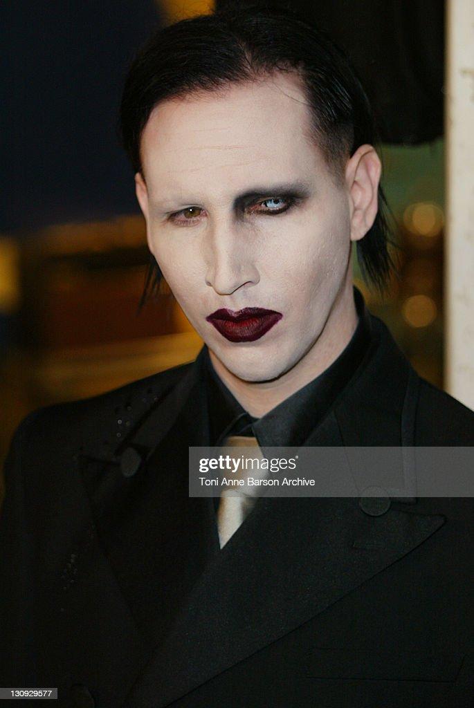 Marilyn Manson During 2002 Mtv European Music Awards Arrivals At