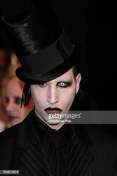 Marilyn Manson during Final Flight Of The Osiris World Premiere at Warner Bros in Burbank CA United States