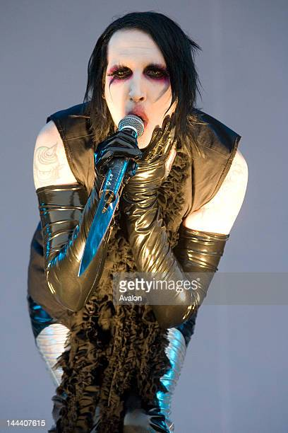 Marilyn Manson performing live at the 2007 Download Festival at Donington Park UK 9th June 2007 23379
