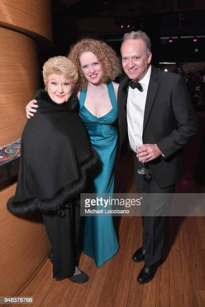Marilyn Maye Kristen Sergeant and Ted Nash attend Lincoln Center's 30th Anniversary Gala at Jazz at Lincoln Center on April 18 2018 in New York City