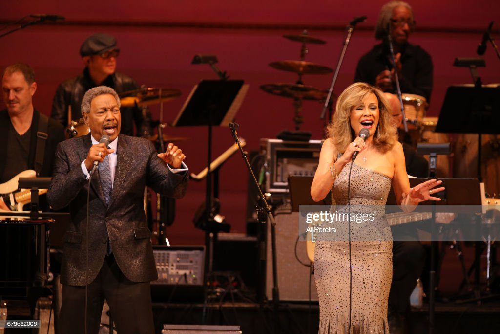 Marilyn McCoo and Billy Davis, Jr. perform during 'City Winery Presents A Celebration of the Music of Jimmy Webb' at Carnegie Hall on May 3, 2017 in New York City.