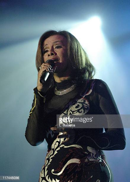 Marilyn McCoo during 38th Annual Songwriters Hall of Fame Ceremony Show at Marriott Marquis in New York City New York United States