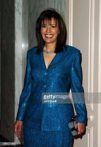 Marilyn McCoo during The Larry King Cardiac Foundation Gala at The Regent Beverly Wilshire Hotel in Beverly Hills California United States