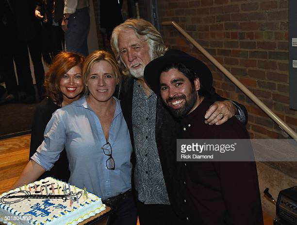 Marilyn McEuen Noel McEuen John McEuen and Richie Melendez backstage at John McEuen's 70th Birthday Christmas Jam at Music City Roots Live from the...