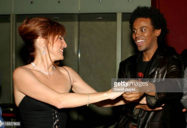 Marilyn Milian and Edwing D'Angelo during Catalina Magazine Party at Auju in New York City New York United States