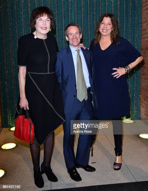 Marilyn Minter Guest and Anne Pasternak attend The Brooklyn Artists Ball 2017 at Brooklyn Museum on April 3 2017 in New York City