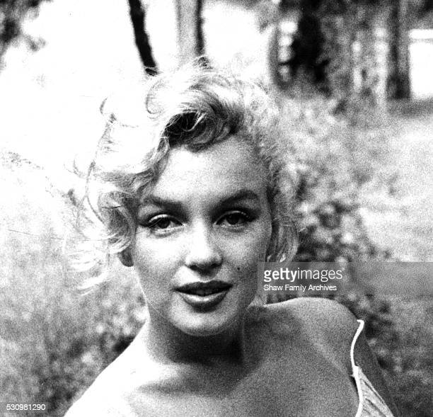 Marilyn Monroe in 1957 in Amagansett New York