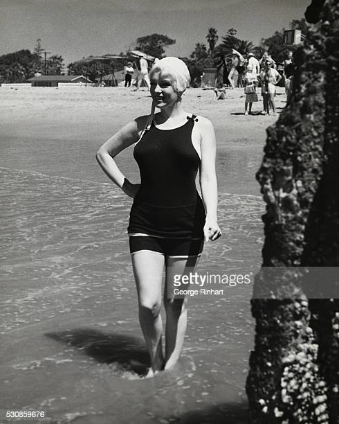 Marilyn Monroe on location for Some Like it Hot