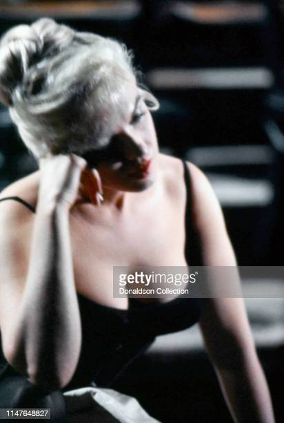 Marilyn Monroe on the set of the movie Let's Make Love in 1960 in California