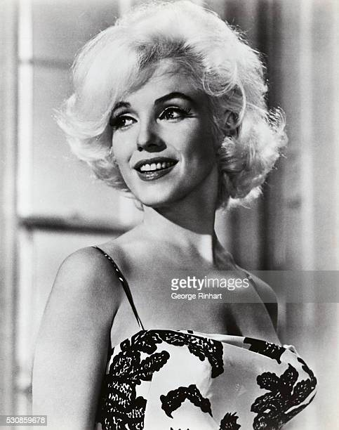 Marilyn Monroe portraying Ellen Wagstaff Arden in the 1962 comedy Something's Got to Give The George Cukor film was never completed due to the death...