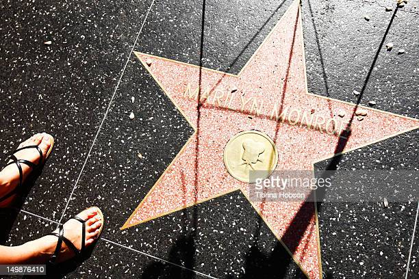 Marilyn Monroe remembered on the Hollywood Walk of Fame in memory of her passing 50 years ago on August 5 2012 in Hollywood California