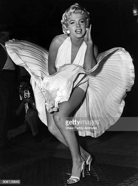 getty images marilyn monroe with the skirt of her white dress blowing as she stands over a subway voltagebd Gallery