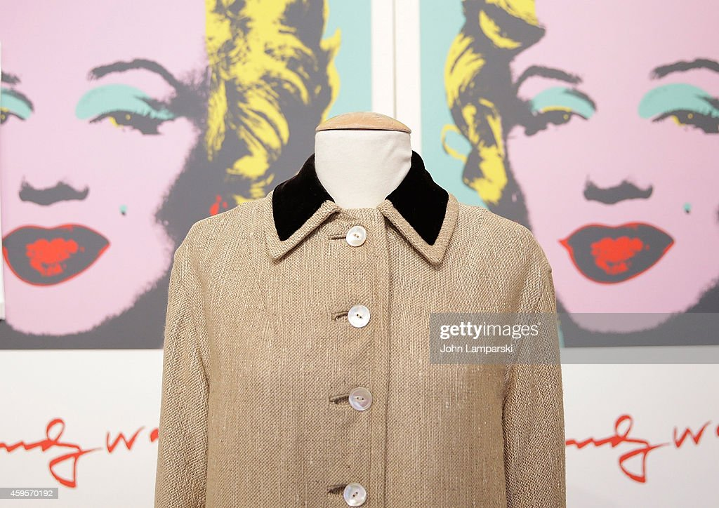 Marilyn Monroe S Coat Is Deisplayed At The Lost Archives Press