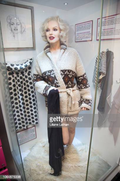 Marilyn Monroe's Famous Sweater and Scarves at the Unveiling of Marilyn Monroe's Iconic 1962 'Happy Birthday Mr President' Dress at Ripley's Believe...