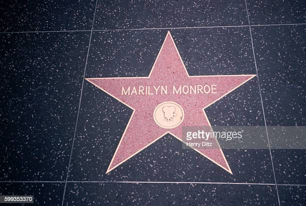 Marilyn Monroe's Star on Walk of Fame