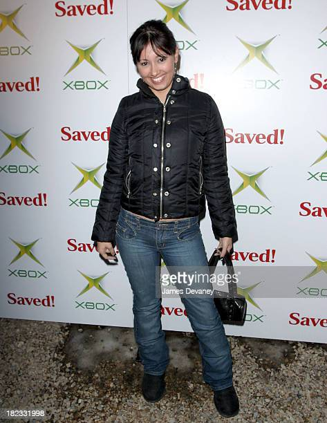 Marilyn Valderrama during 2004 Park City Xbox Hosts Saved AfterParty at 1167 Woodside Ave in Park City Utah United States